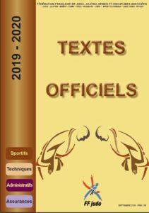 TEXTES OFFICIELS fédération française de judo.